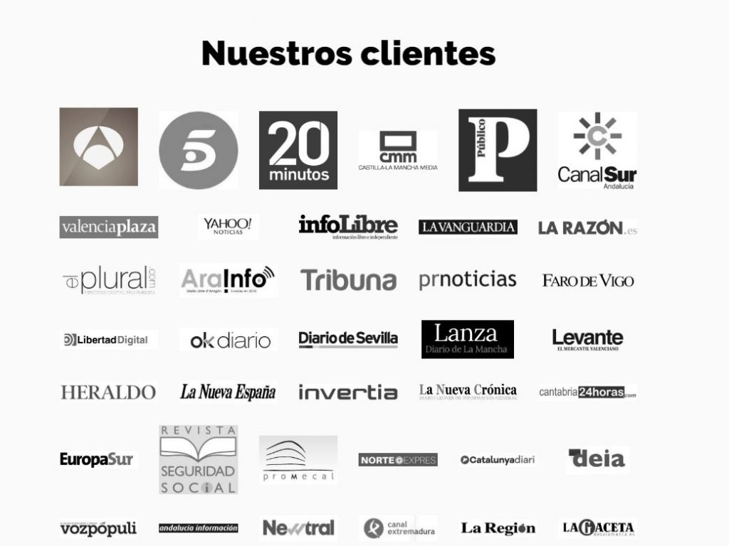 Clientes de Porcentual.es