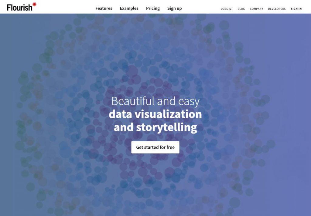 Flourish, herramienta para hacer gráficos y mapas